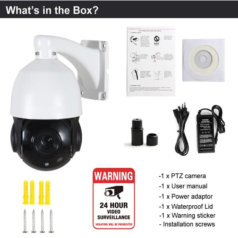 Mini 2MP AHD CVI TVI alt i 1 Koaksial kontrol PTZ kamera udendørs - Sikkerhed og beskyttelse - Foto 4