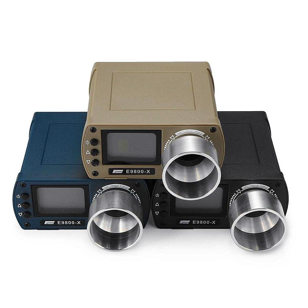 Testeur de vitesse de prise de vue E9800-X chronographe de prise de vue de haute précision-10C à 50C 0-500J écran LCD à énergie cinétique nouveau