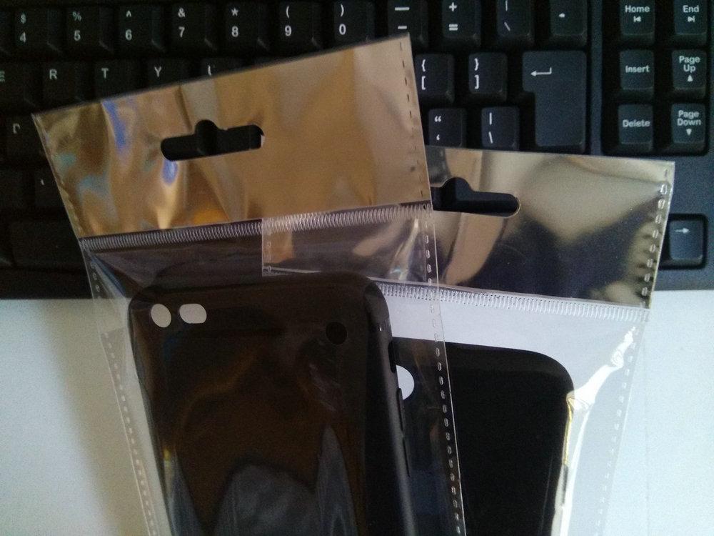 600 шт/партия прозрачный самоклеющийся пластиковый уплотнитель упаковка толстый пункт чехол для телефона чехол отверстие для подвешивания пакет сумка