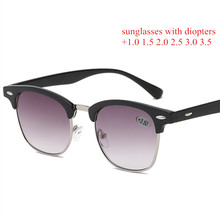 Oulylan Classic Sunglasses Women Men Sun Glasses with Diopte