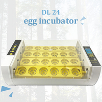 24 Led Display Chicken Egg Incubator Temperature Control Egg Incubators Heater Chickens Ducks Goose Birds Brooder Hatcher