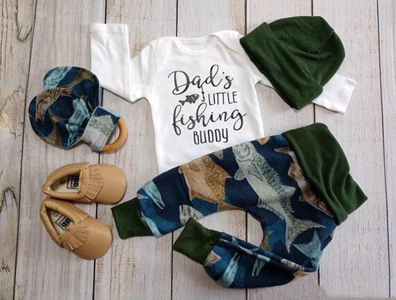 pudcoco newborn baby boy clothes carters fish cotton. Black Bedroom Furniture Sets. Home Design Ideas