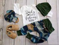 Pudcoco Newborn Baby Boy Clothes Carters Fish Cotton Vetement Bebe Garcon Tops Romper Long Pants Leggings Hat Outfits Clothes