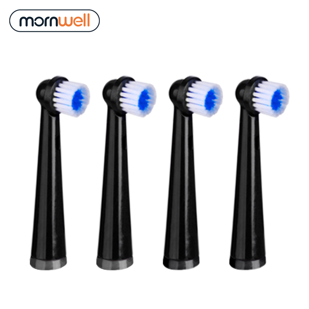 4pcs Replacement Brush Heads For Mornwell Rotation Electric Toothbrush