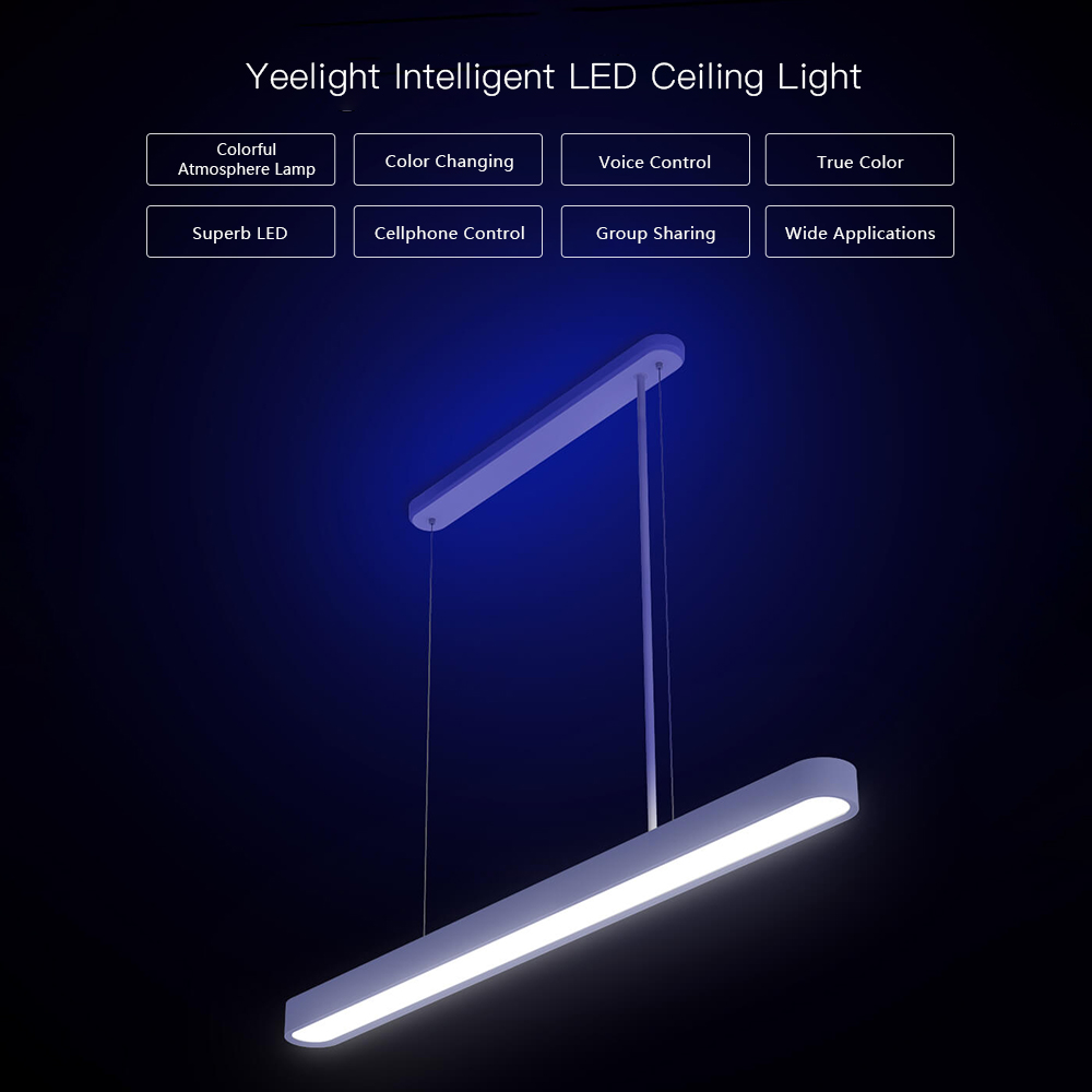 Yeelight AC176 264V 33W 294 LED Intelligent Ceiling Light Lamp WIFI Voice Control Android IOS IP50