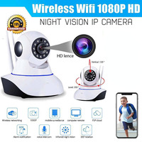 2019 Home Security IP Camera 1080P Waterproof 200W Indoor Wireless Security IP Camera Two Way Audio Smart Network Video System