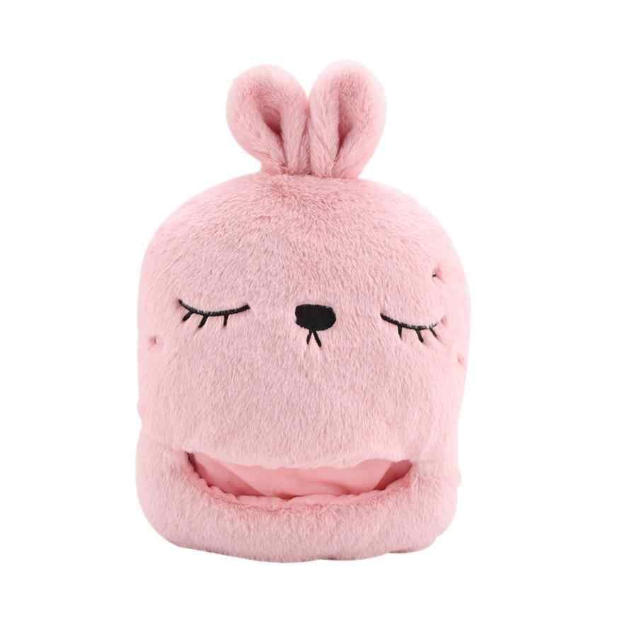 Популярные зимние теплые USB обогреватель для ног модная мультфильм кролик Электрический Тапочки с подогревом обуви для домашнего путешествия Электрический рукогрейник