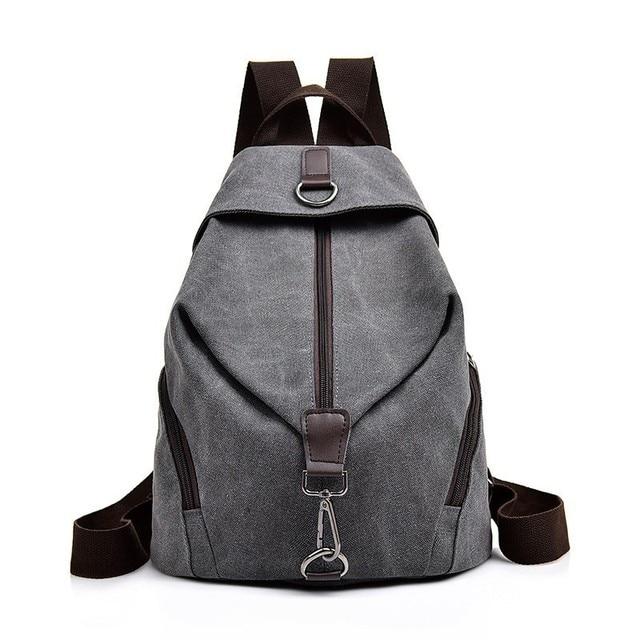 2019 Kadın Tuval kızlar için sırt çantaları Kese Dos Okul Çantaları Için Kız Mochilas Casual Sırt Çantası seyahat omuz çantası Kadın Sırt Çantası