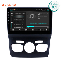 Seicane 10.1 inch HD Touchscreen Android 8.1 GPS Navigation System Wifi Bluetooth Car Radio For 2013 2014 2015 2016 Citroen C4