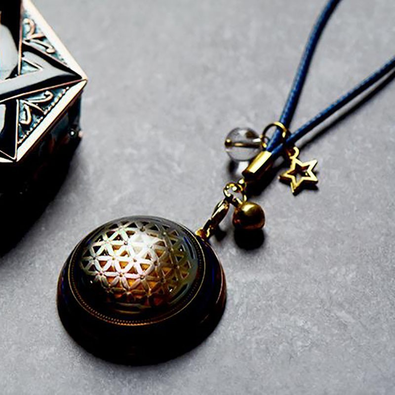 AURA REIKI Orgonite Handmade Improvement Fortune Pendant Reiki Natural Crystal Pendant Glamour Jewelry Accessories  For Women