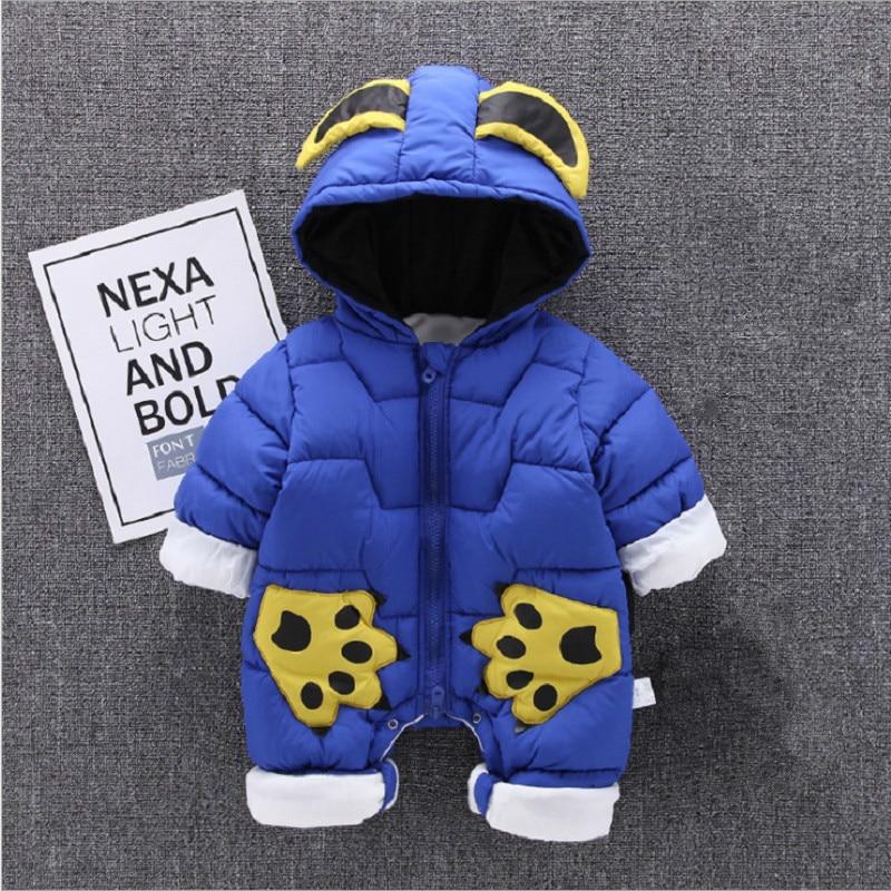 fd7ea0418 0-2T Winter Baby Coats Newborn Snowsuits For Boys Girls Romper Outwear  Jumpsuit ~ Super Deal June 2019