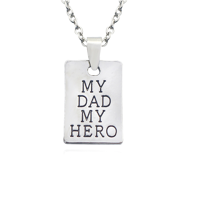 Купить 2019 новая мода подарок на день отца мой папа герой квадратная