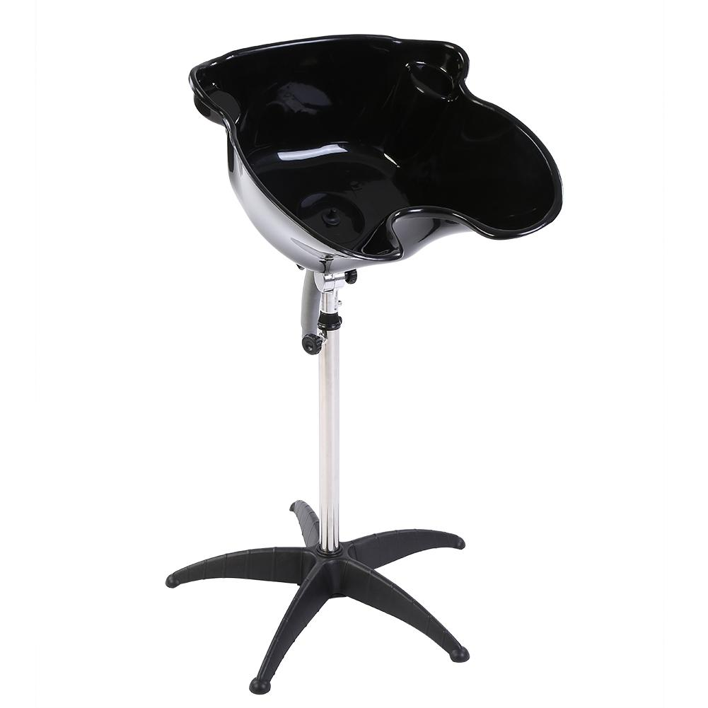 Image 2 - Portable Salon Hair Basin Barber Backwash Stainless Steel Shampoo Hair Treatment Adjustable Height Hair Styling Accessories Tool-in Styling Accessories from Beauty & Health