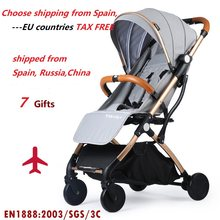 Yoya Baby Stroller Trolley Folding Baby Carriage Buggy Lightweight Pram Europe Stroller Travel Pushchair Plane, 5 USD Coupon(China)