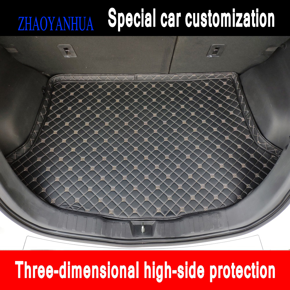 Custom Car Trunk Mats Made For Toyota Land Cruiser 200 Prado 150 120 Highlander FJ Crusier Case  Carpet Liners (2007-