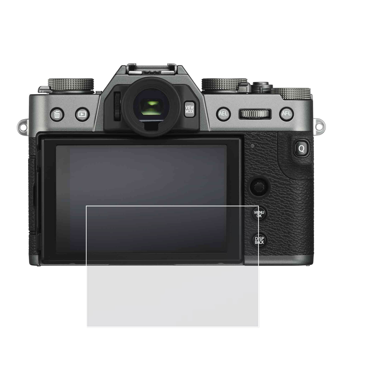 Self-adhesive Tempered Glass / Film LCD Screen Protector For Fujifilm Fuji X-T30 XT30 X-T20 X-T10 X-E3 XE3 X-A1 X-A2 X-M1 Camera