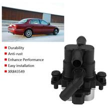 XR843549 podgrzewacz samochodowy zawór sterujący zawór elektromagnetyczny wody dla Jaguar s-type 2 7D 2004 2005 2006 2007 przełącznik próżniowy zawór elektromagnetyczny tanie tanio DOACT CN (pochodzenie) Metal Heater Control Valve Car Heater Control Valve