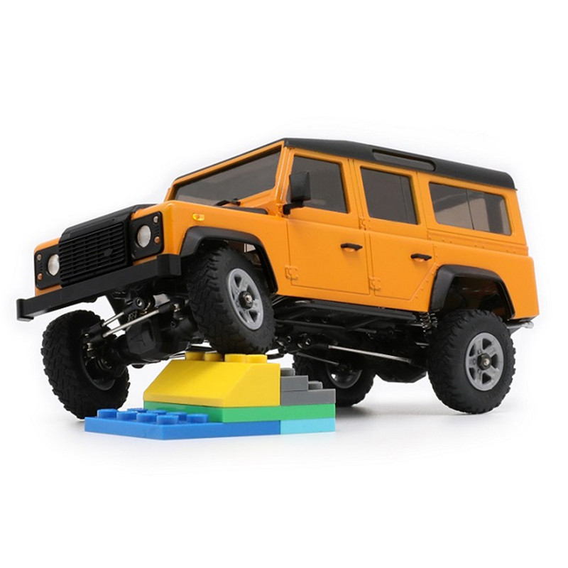 Kit de bricolage Orlandoo OH32A03 Kit de voiture sur chenilles roche RC 1/32 bricolage Rubicon Micro voiture sur chenilles avec/sans pièce électrique bricolage couleur jouet enfant