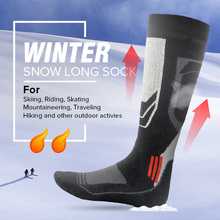 New Winter Thermal Ski Socks Cotton Sport Snowboard Cycling Socks Thermosocks Leg Warmers For Men Women