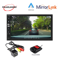 7'' 2 DIN Car Radio Rear Camera DVR Autoradio MP5 For Apple Carplay & Android Bluetooth Mirror link GPS Navi Multimedia
