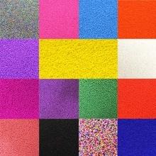 Распродажа новых ювелирных аксессуаров 1000 шт Высокое качество для DIY ожерелье браслет из настоящего стекла бусины Свободные разноцветные