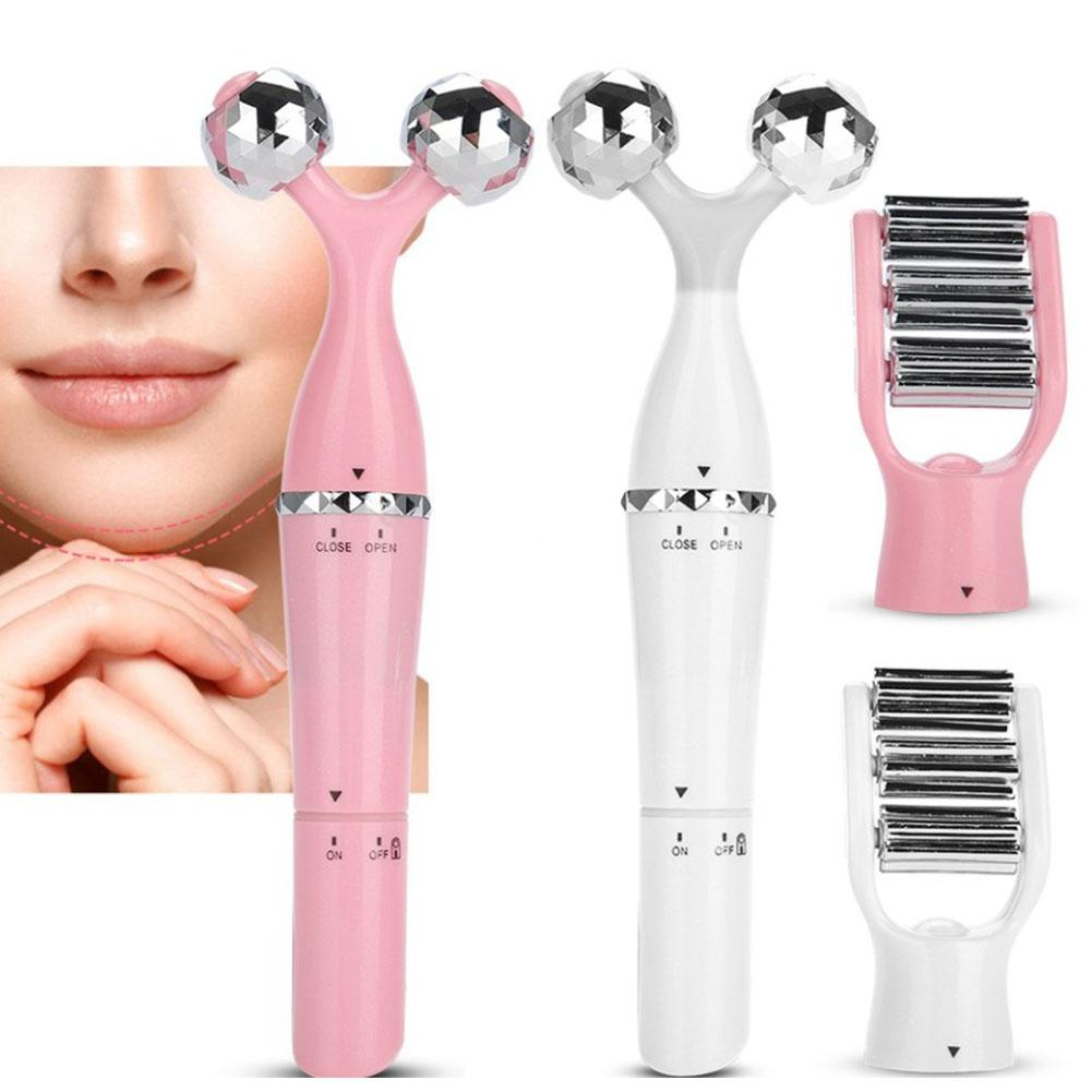 Dr.aelf 3D Roller Massager Face Lifting Body Slimming Tightening Skin Face Care Tools