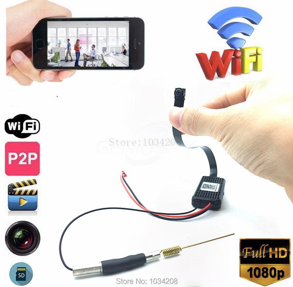 Mini WIFI 1080P HD DVR versteckte IP-Kamera DIY Modul Motion Detection Cam