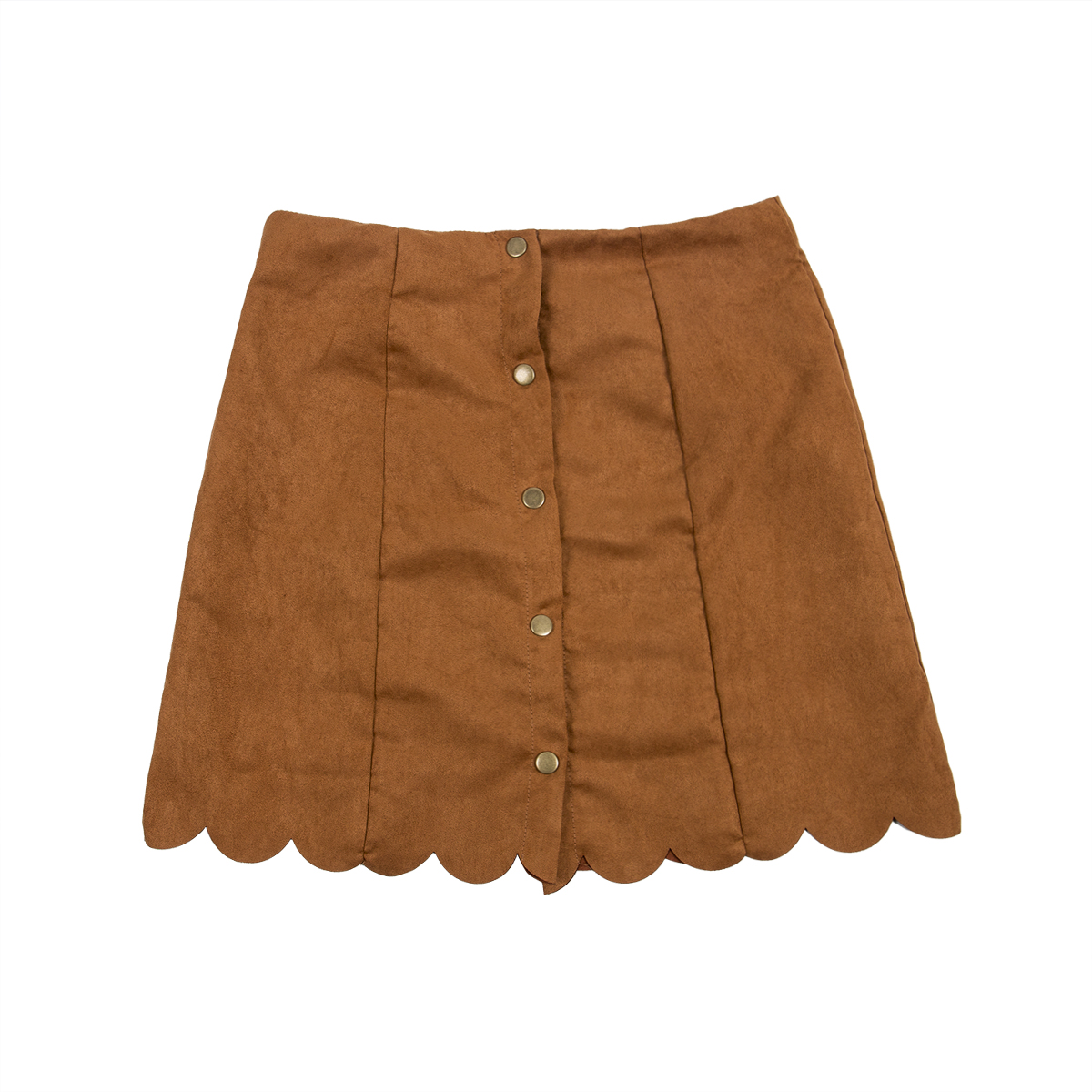 Women Elastic Pleated Solid Skirt High Waist Bodycon Mini Skirt Short A-Line Skirts