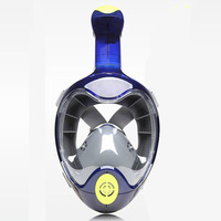 2018 New THENICE Swimming Snorkel Mask Full Face Diving Scuba Equipment Anti Fog Anti Leak Easy Breath Diving Snorkeling