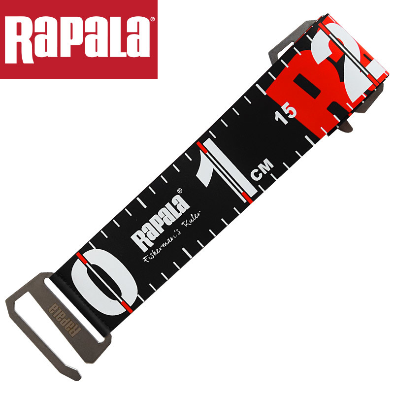 Rapala RFR120 Fold Fish Ruler 1.2M Waterproof Stainless Steel Hook Lure Fishing Tool Fishing Ruler Convenient To Carry