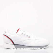 3a1bf33f3c1d0 REEBOK CLASSIC LEATHER Blanco Zapatillas Hombre Deportivas Plano Leather  Casual Sneakers Respirable Fashion Loafers Original Plantilla