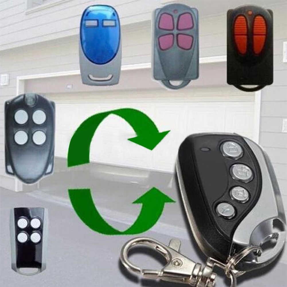 Universal Aman Pintu Garasi Listrik Kloning Remote Control Fob Kunci Mobil Gate 433MHZ Diri Copy untuk Pintu Garasi Sepeda Motor alarm