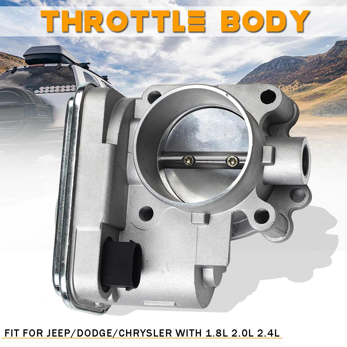 Complete Throttle Body For Jeep/Chrysler/Dodge/Compass/Caliber 4884551AA 04891735AC Auto Replacement Parts 1.8L 2.0L 2.4L