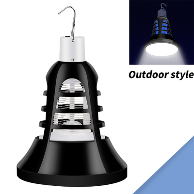 Image 1 - USB Mosquito Killer Lamp E27 Anti Mosquito Electric Trap 8W Outdoor Insect Killer Light Bulb For Home Garden 220V Repellents-in Repellents from Home & Garden