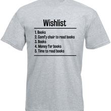 Personalized Tees Fashion O-Neck Short-Sleeve T Shirts Books