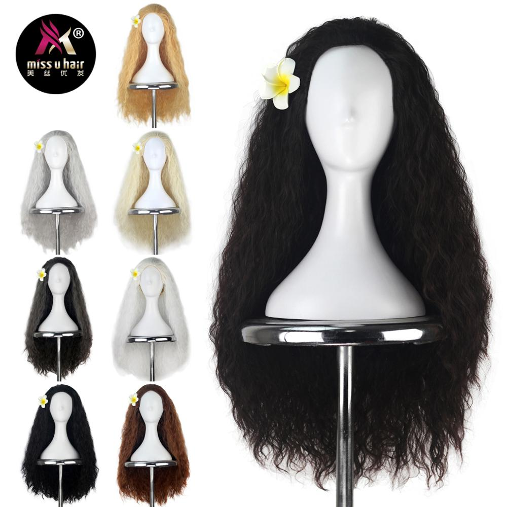 Hair Extensions & Wigs Synthetic Wigs Shop For Cheap Miss U Hair Women Girl Child Adult Synthetic Prestyled Long Wavy Brown Hair Cosplay Costume Wig For Halloween