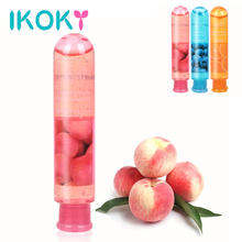 IKOKY Sex Lubricants Oil Vagina Anal Gel Enhance Pleasure Ice Feeling Water-based 80mL Erotic Sex Toys for Women Men