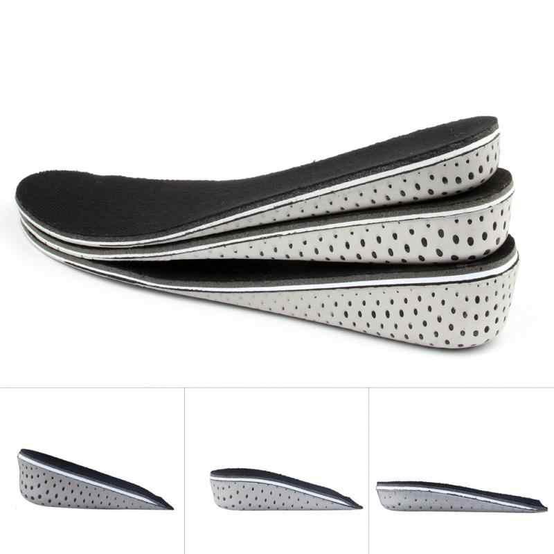 Unisexe 1 paire confortable orthèse chaussures semelles insère haute arche Support Pad pour femmes hommes ascenseur Insert Pad hauteur coussin ~ 3