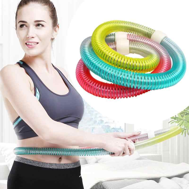 Hula Hoop Fitness Equipment For Women Double-Hose Hula Hoop Abdomen In Fitness Waist Slimming Spring Hula Hoop