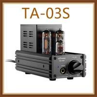 XDUOO TA 03S PCM 32BIT/192KHZ DSD128 XMOS U8 CS4398*2 USB DAC & Tube Headphone Amplifier AMP