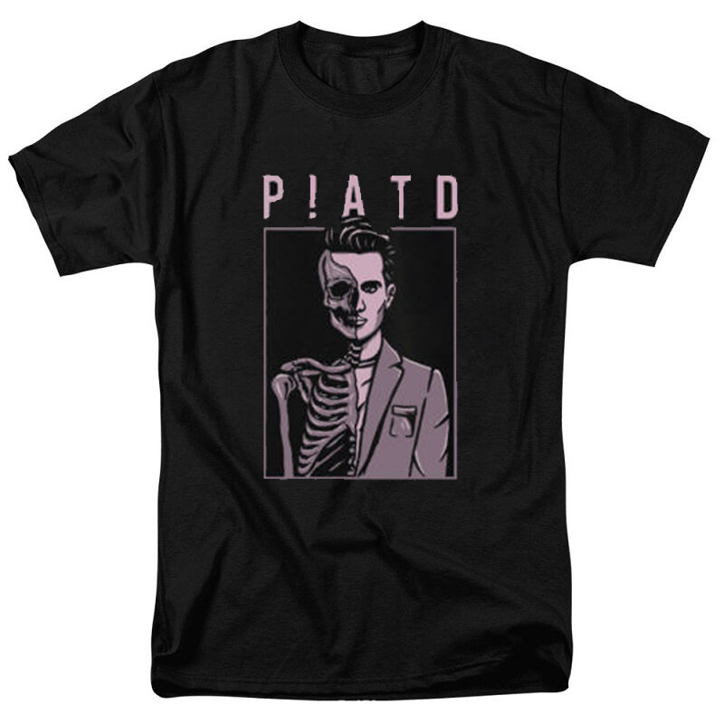 Panic! at The Disco PATD Death of The Bachelor Black men tshirt short sleeve 100% cotton high quality casual Men   T     Shirt   Unisex