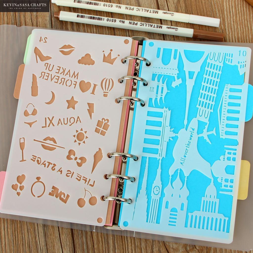 2019 A6 Laser Cut Journal Accessory Notebook Quality Set Diary Planner Stationery School Supplies Gift Tools Sketchbook