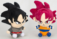 10pcs/lot Dragon Ball Z Figures Plush Doll Super Saiyan God Son Goku Figure High Quality Soft Plush Doll Model Toys