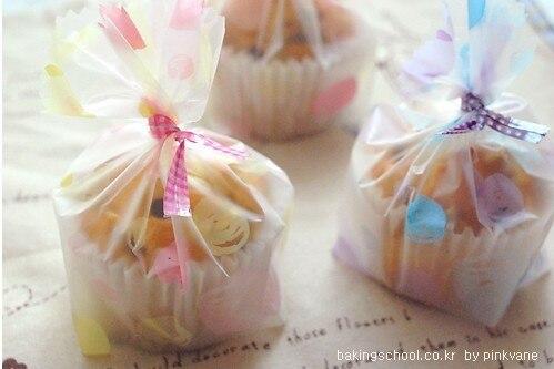 Пластик кекс cookie сумки для подарок пекарни упаковки для свадьбы и праздника вечерние поставки 12*20 см
