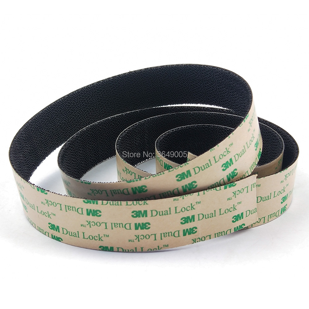 25.4mm x 5meter 3M SJ4575 black dual Lock Low Profile Reclosable Fastener self adhesive with Mushroom Stems Shaped Tape