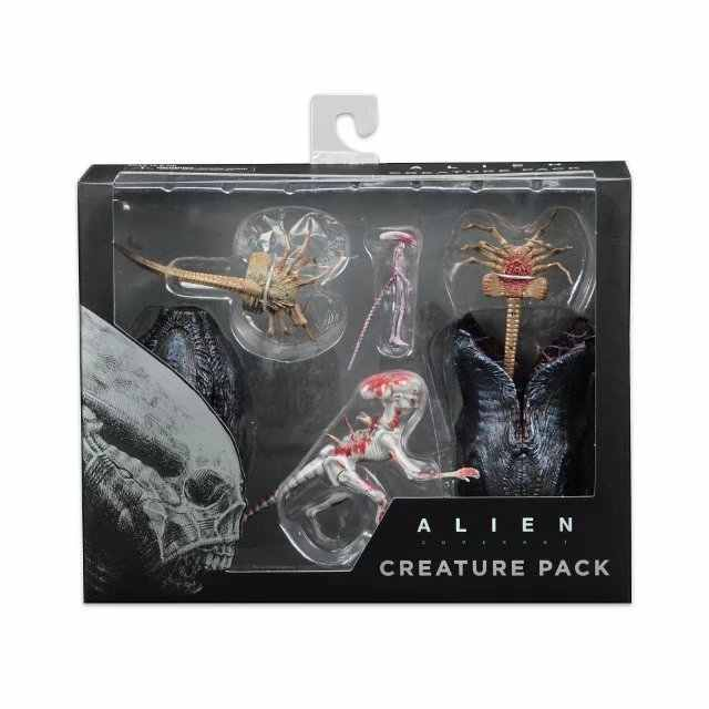 2018 аниме фигурка из фильма NECA Alien Covenant Xenomorph Neomorph Creature Pack ПВХ фигурка Коллекционная модель игрушки