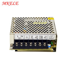 цена на Smps 35W Power Supply 5V 12V 24V Triple Output Switching Power Supply AC100-240V Input To DC 5v 12v -5v 35W 3A 1A 0.5A NET-35A