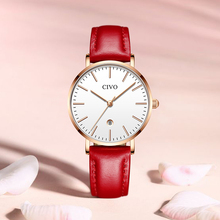 CIVO  Top Brand Luxury Women Watches Watch Women 2019 Relogio Feminino Chronograph Roman Gold Ladies Watches Quartz Wristwatches цена и фото