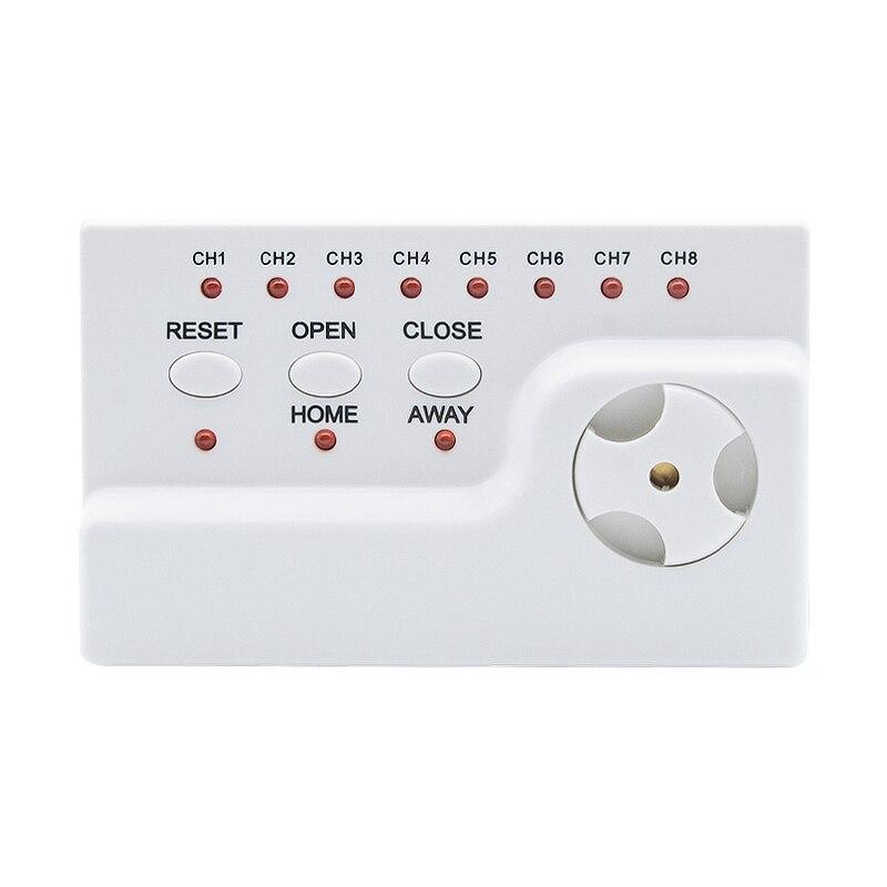 Detector de agua WLD 806 con alarma de voz para dispositivo de detección de fugas de agua con Cable compatible con 8 cables de Sensor de agua y 2 pc Válvula de-in Sensor y detector from Seguridad y protección on AliExpress - 11.11_Double 11_Singles' Day 1