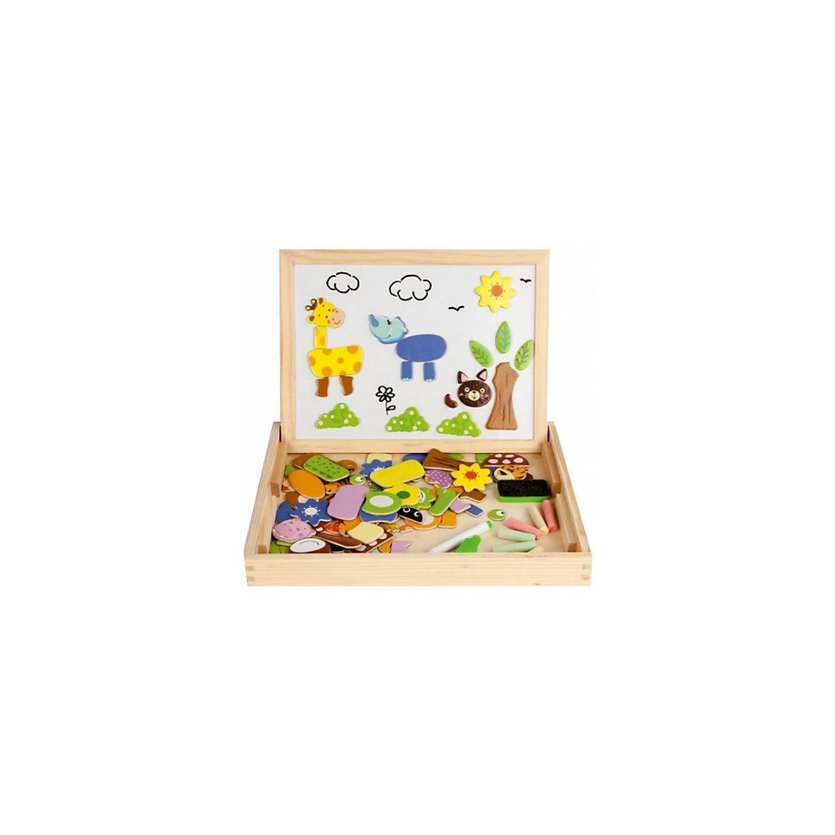 MAPACHA Holz Blöcke 4925605 für jungen und mädchen Pädagogisches spielzeug für kinder Baby Kinder MTpromo - 2